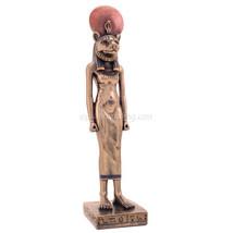 "Egyptian Sekhmet (Cold Cast Bronze) 9"" Statue - $44.10"