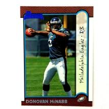 Donovan McNabb 1999 Bowman Rookie Card #168 NFL Philadelphia Eagles - $2.92