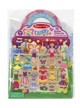 Puffy Sticker Play Set - Fairy With Sticker Set by Melissa & Doug Fast S... - $7.97