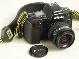 Nikon N90 AF Camera 35mm Film 35-70 f3.3-4.5 Nikkor Zoom Lense - $88.11