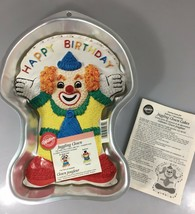 Wilton Juggling Clown Birthday Cake Aluminum Pan 2105-572 Instructions 2000 - $27.93