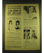 1969 Mark Eden Developer and Bustline Contouring Course Ad - Is it now p... - $14.99