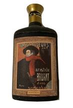 Vintage 1960's JIM BEAM'S CHOICE DECANTER AMBASSADEURS ARISTIDE BRUANT E... - $9.90