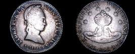 1844-PTS R Bolivian 8 Soles World Silver Coin - Bolivia - $99.99