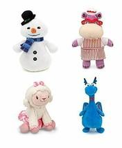 Disney Junior Jr Doc Mcstuffins Chilly Snowman Bean Bag Plush & Hallie Hippo F/S - $129.96
