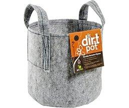 Hydrofarm HGDB45 Bag Reusable Planting, 45-Gallon Dirt Pot, 45 gal, Grey - $33.44