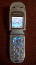 Motorola V220 Unlocked Silver - $28.05