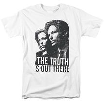X files t shirt truth is out there mulder scully 90s tv show science fiction tee white thumb200