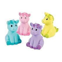 Unicorn Characters Set of 12 Fun Party Favors and Toys