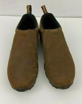 Merrell Jungle Moc Men's  size 9 m Brown Nubuck Slip-On Hiking Shoes Cas... - $49.49