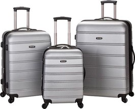 Rockland Melbourne 3 Piece Luggage Set $480 - NEW - FREE SHIPPING - in S... - $184.09