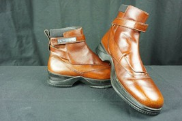 59f2528988df0c Mens Nike JORDAN Two3 Elegante Brown Leather Dress Boot Size 8M Shoe  136091-Y3 -