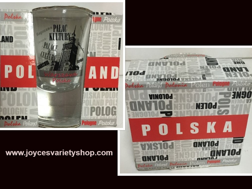 Poland shot glasses web collage