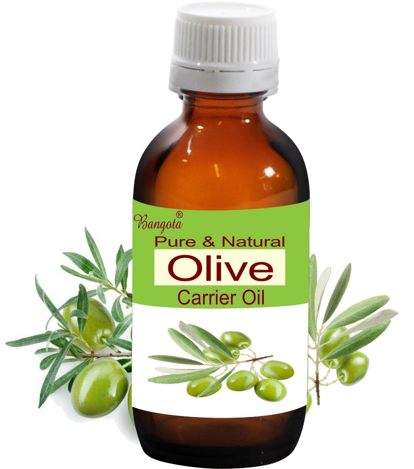 Primary image for Olive Oil- Pure & Natural Carrier Oil- 10 ml Olea Europaea by Bangota