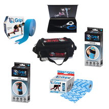 Kinesiology Tape and Kit Bag - Sports Strapping for Professionals and At... - $237.59