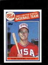 1985 TOPPS #401 MARK MCGWIRE NMMT RC ROOKIE OLY  *X00407 - $11.88