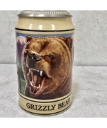 Budweiser Beer American Grizzly Bear Endangered Species Stein - $31.60