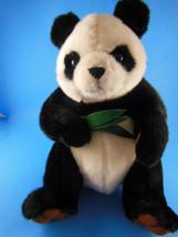"""Souvenir Panda Bear Plush 12"""" MS Amsterdam Grand Asia Australia Voyage 2011 - $11.87"""