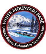 US Navy Submarine Veteran White Mountain Base Military Patch NEW!!! - $11.87