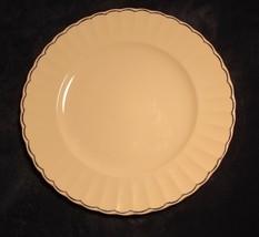 "Ralph Lauren China Featherstitch Blue Round Chop Plate Platter 12 1/2"" - $29.69"