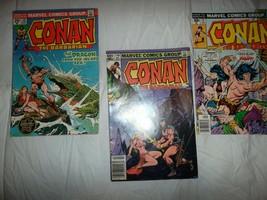 Conan the Barbarian - Lot of 3 - Marvel Comics - #39, 70, 144 - 1974, 19... - $9.90