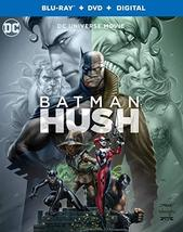 Batman: Hush  (Blu-ray + DVD + Digital, 2019)