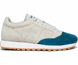 Saucony Jazz Original  Men's Shoe Grey/Teal, Size 8.5 M image 2