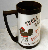 ALTURAS CALIFORNIA THERMAL MUG UNCLE BOB FRIED CHICKEN EAGLE BRAND USA 6... - $64.35