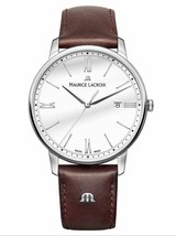 AUTHORIZED DEALER Maurice Lacroix Eliros EL1118-SS001-113-1 Automatic 40... - $683.10