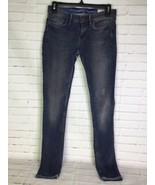 Allsaints Spitalfields Jacks Place Womens Size W 26 L 32 Dusk Pipe Skinn... - $39.59