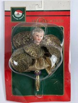 NEW Santa's World Kurt Adler Gold Dancing Angel Christmas Tree Ornament  - $12.86