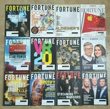FORTUNE MAGAZINE 2012-2019 12 ISSUES LOT - $16.83
