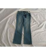 Charter Club Women's Prescott Boot Leg Tummy Slimming Astor Wash Blue Je... - $39.27
