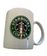 Starbucks Logo Mug 9 Oz Coffee Cup With Mermaid Split Tail logo -F1 - $17.94