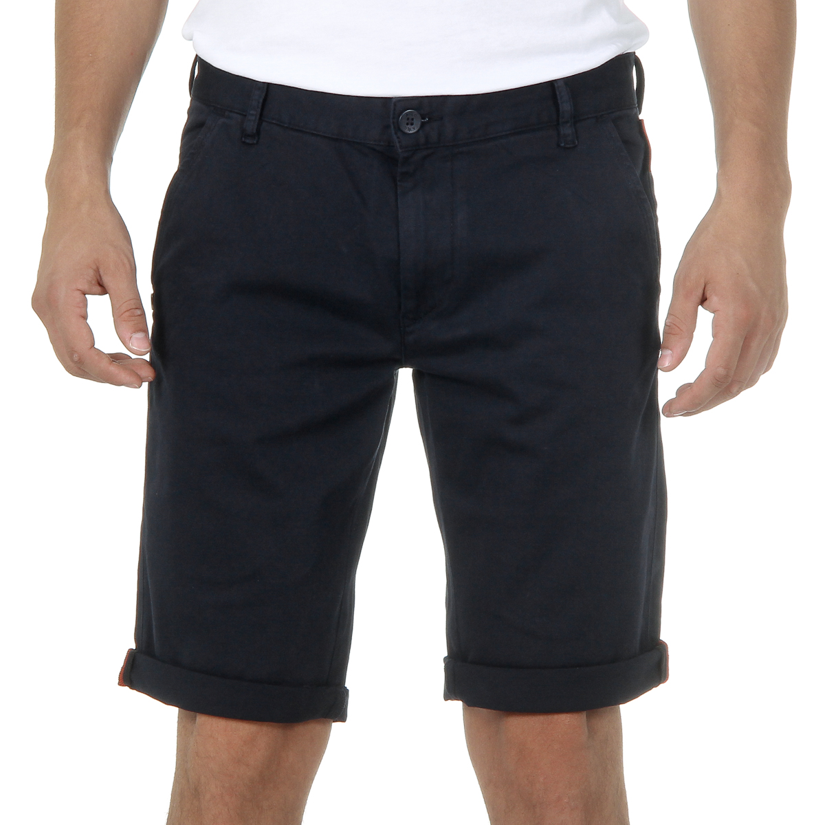 Primary image for Andrew Charles Mens Shorts Blue SADECK