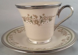 Lenox china Fresh Meadow cup & saucer ( 8 available ) FREE SHIPPING - $12.00