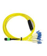 RiteAV MTP/APC (M) - LC Breakout Cable Assembly, 12 Fibers, Singlemode 2M - $129.97