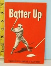 1948 Batter Up: Make Yourself A Better Ballplayer Standard Chevron Oil C... - $24.75
