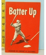1948 Batter Up: Make Yourself A Better Ballplayer Standard Chevron Oil C... - $24.75