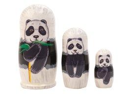 "Panda Nesting Doll 3pc./3.5"" - $18.00"