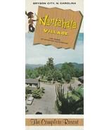 Vintage Travel Brochure Nantahala Village Bryson City North Carolina Resort - $14.84