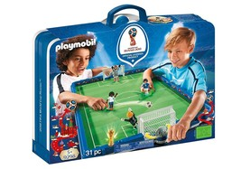 PLAYMOBIL 9298 Take Along 2018 FIFA World Cup Russia Arena  - $118.53