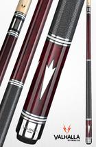 Euro Red VA902 Pro Taper Valhalla Viking Billiard Pool Cue Stick W/ Leather Wrap - $186.99+