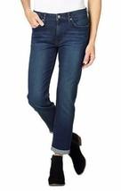 NEW Calvin Klein Women's Slim Boyfriend Blue Inkwell Jeans Sizes 2 4 8 12 image 1