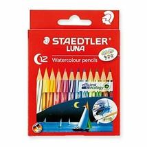 Staedtler watercolor pencils Luna 12 color set Short 1371001C12 - $15.49