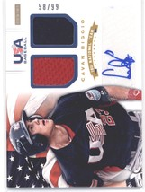 2012 Panini USA Baseball 18U National Team Dual Jerseys Signatures #3 Cavan Bigg - $25.00