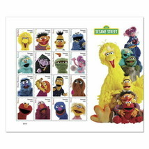 USPS New Sesame Street Pane of 16 - $16.63