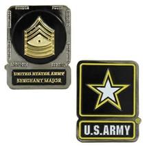 Genuine U.S. Army Coin: Serg EAN T Major - $16.81