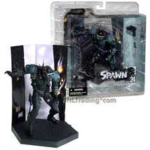 Year 2003 McFarlane Toys Spawn The Classic Covers 6 Inch SWAT (Comic Iss... - $29.99