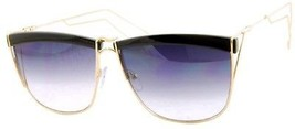 ROXX- Elegant Black And Gold With Purple Lens Metal Wire Frames For An ... - $12.23